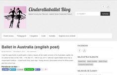 Jednoduchý blog na Wordpressu pro Baletní školu Cinderella na Praze 6 http://www.cinderellaballet.cz/blog/.