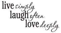 Live Laugh Love Passions Wall Quotes™ Decal   WallQuotes.com