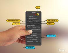 element shortcuts 3ds max