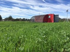 It's a 2-acre farm, packed into a shipping container that doubles as a farm building : TreeHugger