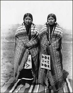 Nez Perce women, Colville Indian Reservation, Washington, ca. 1905.