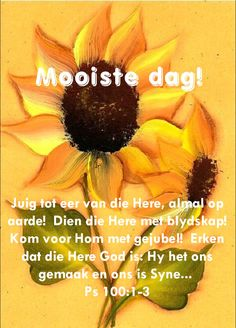 Lekker Dag, God Is, Goeie More, Afrikaans Quotes, Good Morning Wishes, Morning Quotes, Bible, Motivation, Gallery