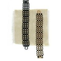 Cane-Back Bracelet; Julie Glasser; Beadwork - Quick & Easy Beadwork 2014 | InterweaveStore.com