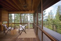 Set in a thicket near Flathead Lake, Montana, designed by Austin-based firm Andersson Wise Architects, sits this gorgeous treehouse.