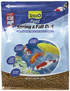 Tetra Pond Spring and Fall Diet Floating Pond Sticks contain wheatgerm which has exceptional digestibility at low temperatures. This is very important since fish metabolism and the pond's ammonia-redu...