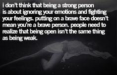 I'm emotional. I'm sensitive. I'm tired of people making me feel like it's a bad thing.