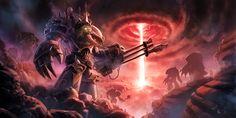 Warhammer 40K tribute: Chaos Terminator by *pierreloyvet on deviantART
