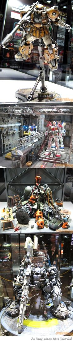 Gundam models that will blow your minds