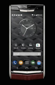 The New Signature Touch smartphone smartphone from British luxury phone brand Vertu