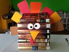 Thanksgiving book dispay