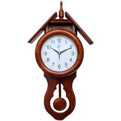 El escape más corriente en estos relojes es el llamado de áncora de Graham. Va montada sobre un eje de giro central que comunica mediante una varilla con el péndulo.