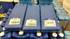 Kylmäkallet kaupassa! Oikean puoleisessa kylmäkallessa on Plastexin uusi tarra! Made in Finland