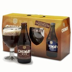 This Chimay Belgian beer gift pack contains: - 1x 33cl bottle Chimay Red ABV 7