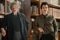 Get a sneak peek at Academy Award-winning actor Geoffrey Rush and newcomer Johnny Flynn as Nobel Prize-winning physicist Albert Einstein, in National Geographics global event series GENIUS, coming in April.