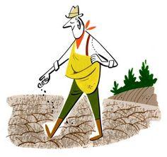 Monocle : Farmer : illustration by Satoshi Hashimoto www.dutchuncle.co.uk/satoshi-hashimoto