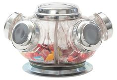 One Kings Lane - Our Buyers' Best - Vintage Revolving Candy Jars