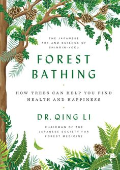 How to Practice the Japanese Art of Shinrin-Yoku (Forest Bathing) at the Office - Books for Better Living Viktor Frankl, Imagen Natural, Good Books, Books To Read, Big Books, Shinrin Yoku, Forest Bathing, Walk In, Book Cover Design