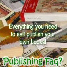 Publishing Faq | Help Self Publishers