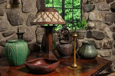 Arts and Crafts | Craftsman | Mission Style | Bungalow | Grueby | Roycroft Copper | Stickley