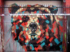 Door Art by Chad Hasegawa via booooooom.com