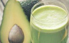 Suco Detox de Abacate para Desinchar A Barriga