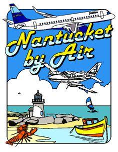 Airport Coloring Book Nantucket Memorial Airport ACK