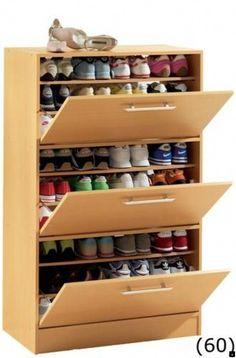 Neutral shoe cabinet diy plans tips for 2019 - Schuhschrank Home Furniture, Furniture Design, Furniture Ideas, Diy Shoe Rack, Shoe Racks, Diy Shoe Organizer, Best Shoe Rack, Shoe Storage Cabinet, Storage Rack