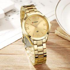 188f4a8bc37 CURREN Gold Watch Women Watches Ladies 9007 Steel Women s Bracelet Watches  Female Clock Relogio Feminino Montre Femme