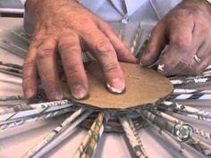 Programa Arte de Viver-Aprenda a fazer um chapeu-Passo a passo-www.artedeviver.com - YouTube