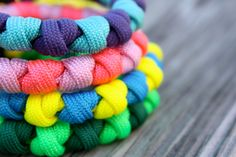 The Prayer Bead - Paracord Bracelet Custom Colors