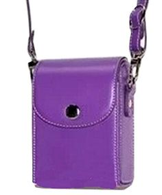 Camerase Camera Case Digital Camera Shoulder Bag Pouch Case for Casio EXZR 120015001000410 ZS200 Lichee Pattern Purple -- Read more  at the image link. (Note:Amazon affiliate link)