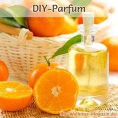 Eigenes Parfum selber mischen - Parfum Rezept: Sportlich frisches Parfum mit Mandarinenduft
