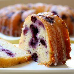 Blueberry Lemon Poundcake... simplicity!