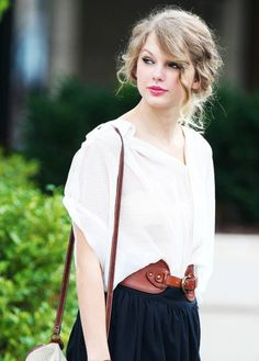 """Taylor Swift started crafting songs at age 5, and at age 16, released her debut album. Hits like """"Love Song"""" and """"You Belong With Me"""" appealed to country and pop fans alike and helped fuel the multiplatinum success of her albums, with Fearless the 2009 top-seller. She has won many awards, including several Grammy Awards, and modeled for Cover Girl."""