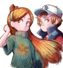 More awesome fan art! Do bad this show has such a low supply :( #gravity falls #dipper #mable