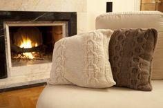 cuscini a maglia
