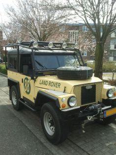 "Land Rover 88"" Lightweight"