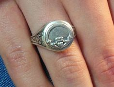 Custom promise rings for couples Custom Promise Rings, Promise Rings For Couples, Claddagh, Weapons, Addiction, Silver Rings, Cosplay, Bracelets, Jewelry
