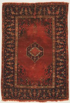 Philadelphia Museum of Art - Collections Object : Prayer Rug Prayer Rug Artist/maker unknown, Turkish Geography: Probably made in Ushak, Anatolia, Turkey, Asia