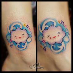 Tattoo by Nasa Nyc Tattoo, Tattoo Shop, Body Language Tattoo, Astoria Queens, Cloud Tattoo, Queens Nyc, Custom Tattoo, Cute Tattoos, Nasa