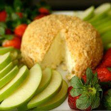 Lemon Cheesecake Cheese Ball Recipe Appetizers, Desserts with cream cheese, sugar, lemon, lemon juice, graham cracker
