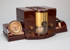 Airite Model 3010 Desk SET Bakelite Tube Radio ART Deco | eBay