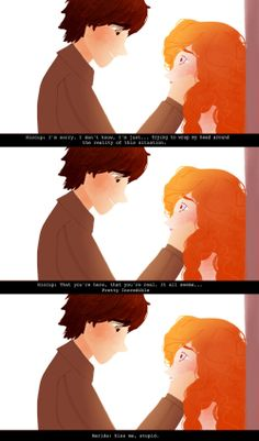 She said it all I laughed so hard reading this Cute Disney, Disney Art, Jack Frost, Disney And Dreamworks, Disney Pixar, Rapunzel, Merida And Hiccup, Punziella, Best Crossover