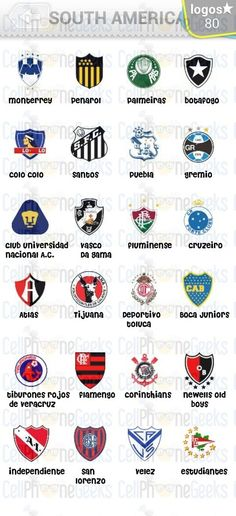 Level 8 – Logo Quiz Football Clubs South America Answers