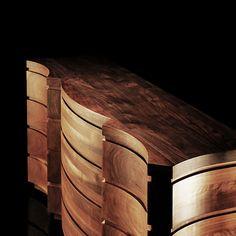 SOLID AMERICAN WALNUT WOOD CREDENZAS | Taylor Llorente Furniture