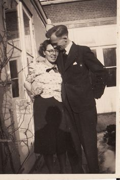 Diet Eman and her fiance Hein Sietsma 1939. Diet and Hein were Dutch Resistance Fighters. Both were astounding Christians. Click the picture for her story and read her memoir, Things We Couldn't Say.