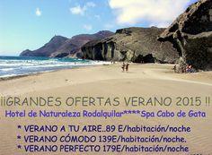 NATURALEZA RODALQUILAR: GRANDES OFERTAS VERANO 2015. Hotel de Naturaleza R...