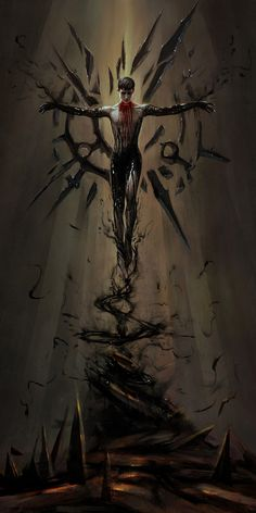 Excellent art for the Outsider from Dishonored Fantasy Characters, Horror Art, Character Design, Character Art, Fantasy Artwork, Fantasy Art, Dishonored, Dark Art, Dark Fantasy Art