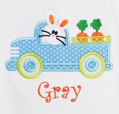 Boys Personalized Easter Shirt Easter Bunny by bowdaciousbaby2, $22.00