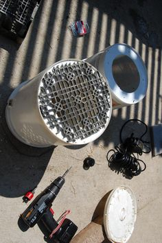 Diy Canister Filter For Water Garden Pond Tropical Fish Keeping Aquarium Fish Care And